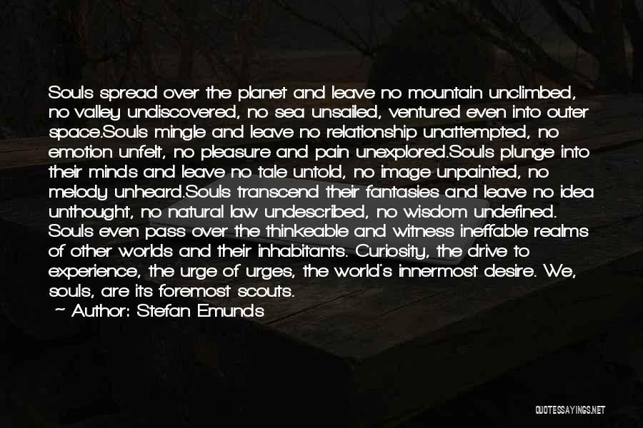 Outer Space Exploration Quotes By Stefan Emunds