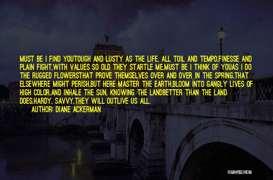 Outlive Your Life Quotes By Diane Ackerman