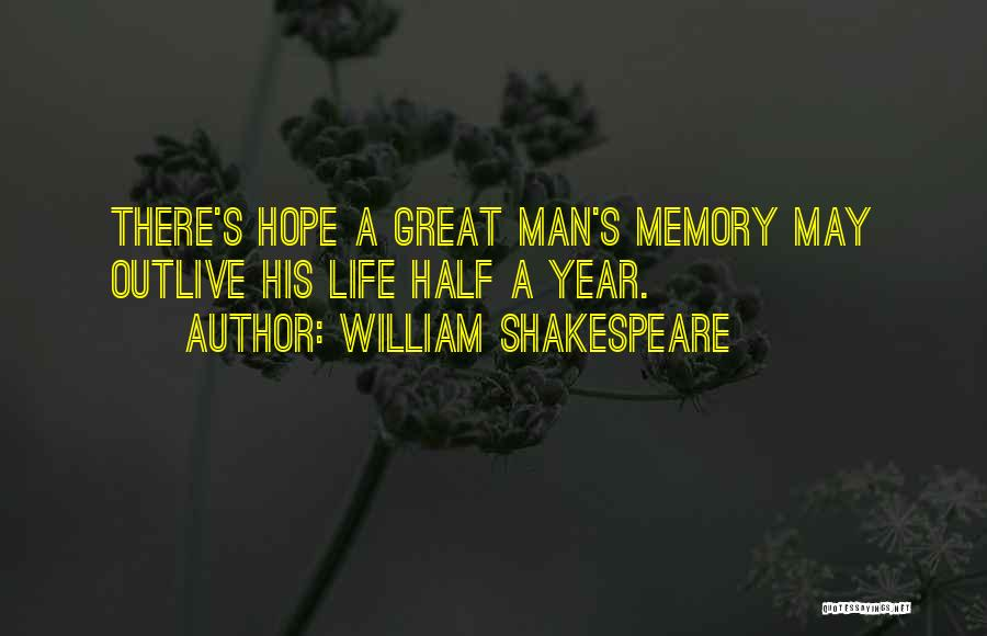 Outlive Your Life Quotes By William Shakespeare