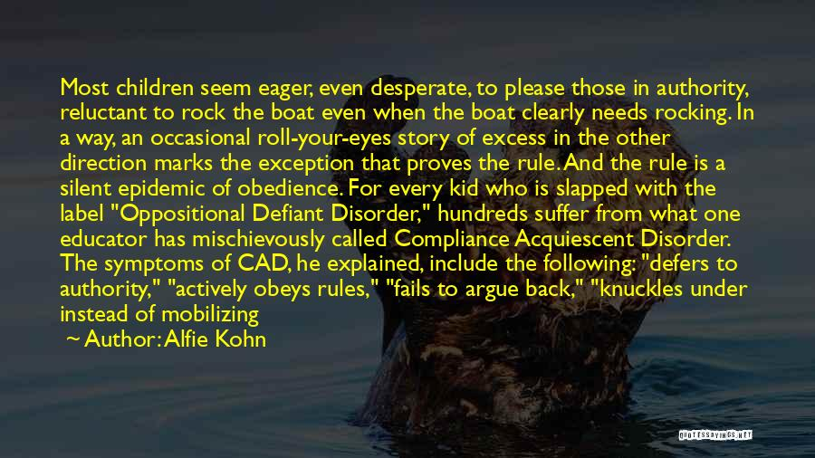 Outrage Quotes By Alfie Kohn