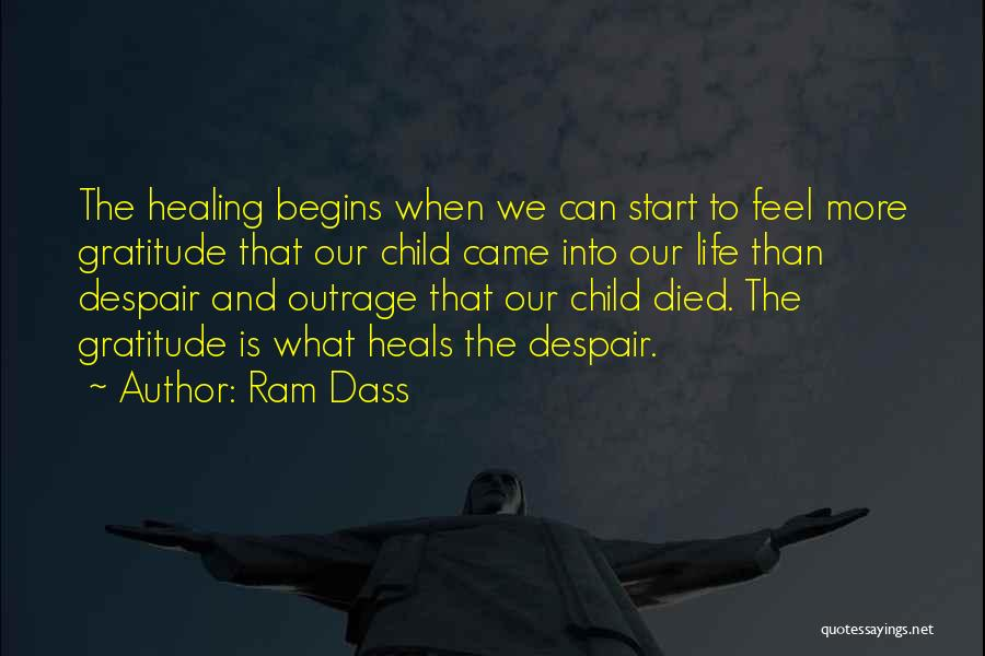 Outrage Quotes By Ram Dass