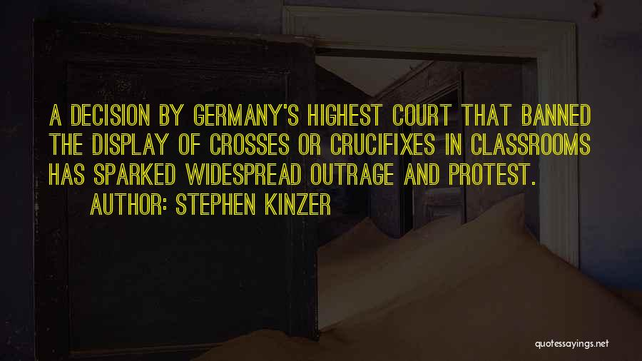Outrage Quotes By Stephen Kinzer