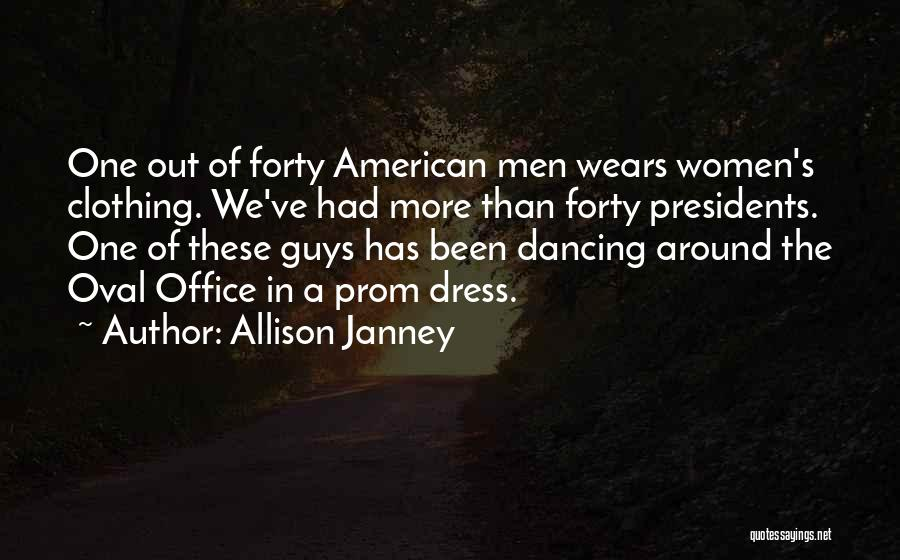 Oval Office Quotes By Allison Janney