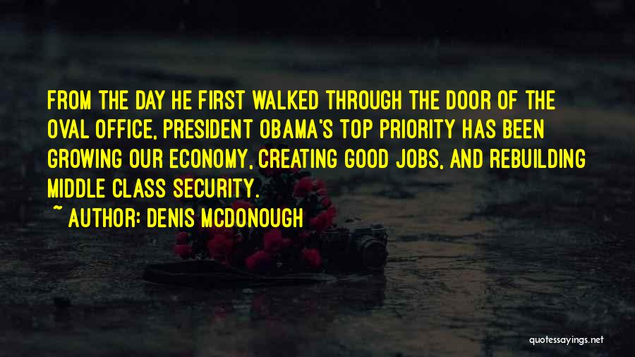Oval Office Quotes By Denis McDonough