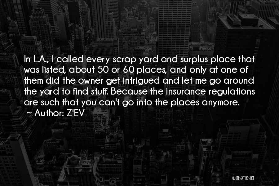 Over 50 Insurance Quotes By Z'EV