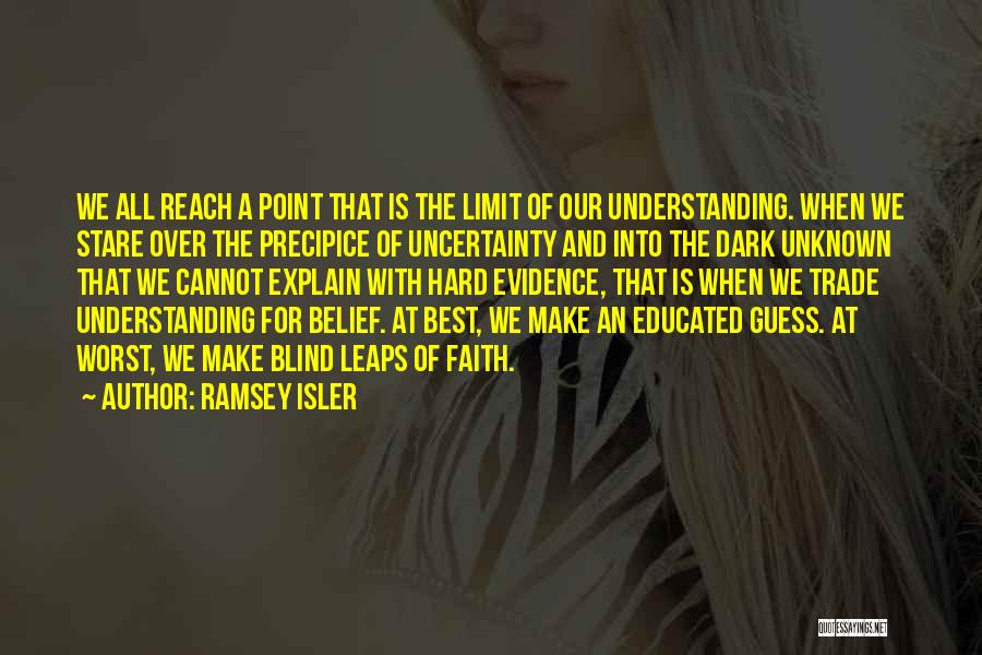 Over Educated Quotes By Ramsey Isler