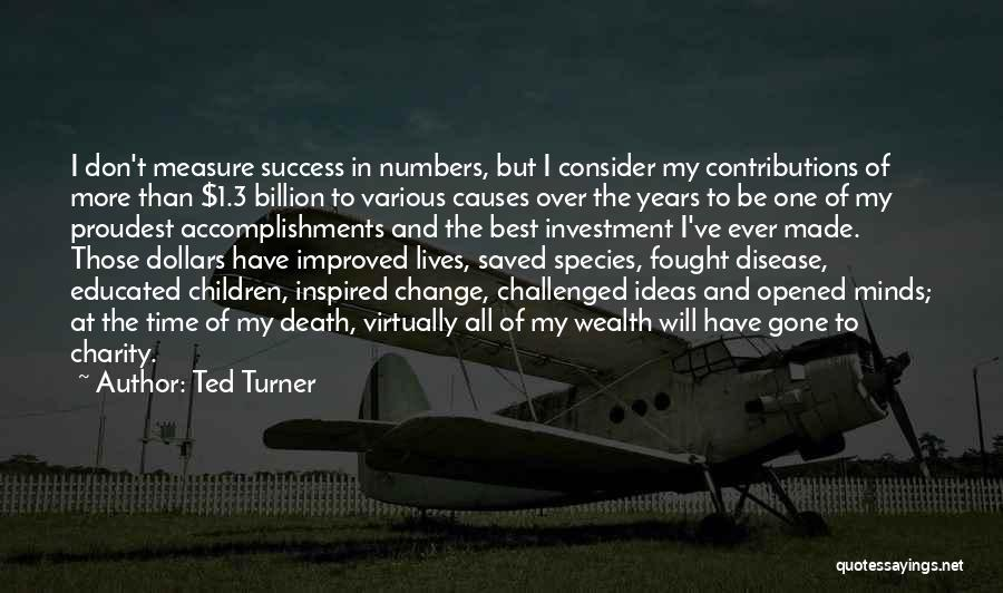 Over Educated Quotes By Ted Turner