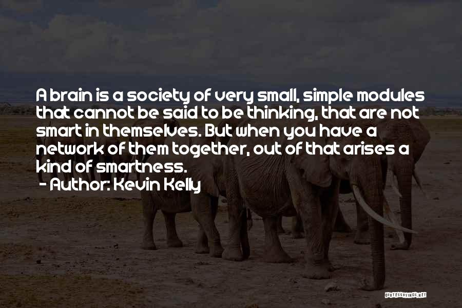 Over Smartness Quotes By Kevin Kelly