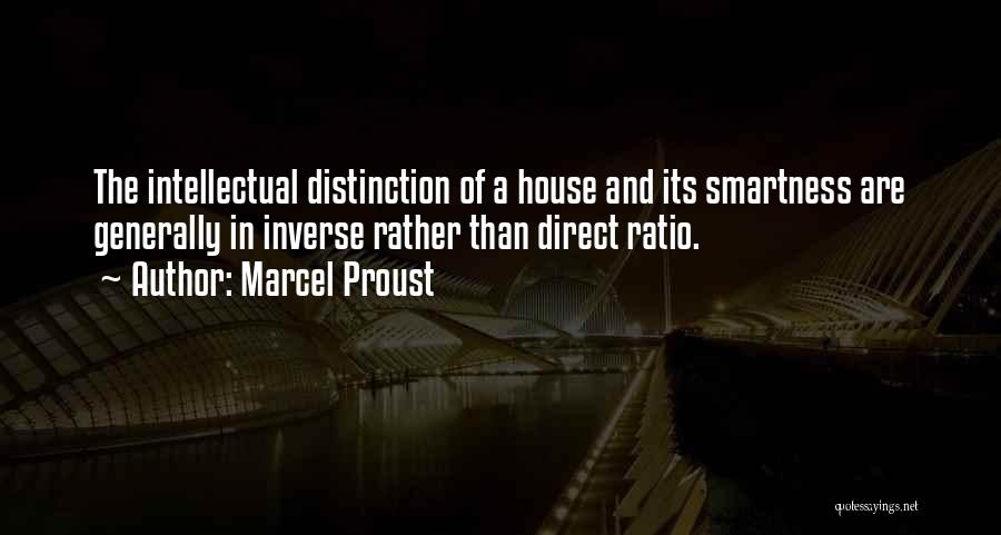 Over Smartness Quotes By Marcel Proust