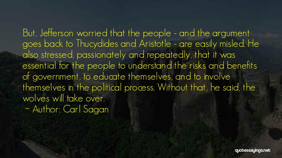 Over Stressed Quotes By Carl Sagan