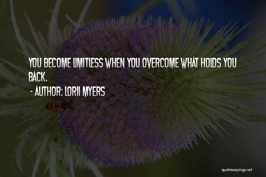 Overcoming Obstacles Quotes By Lorii Myers