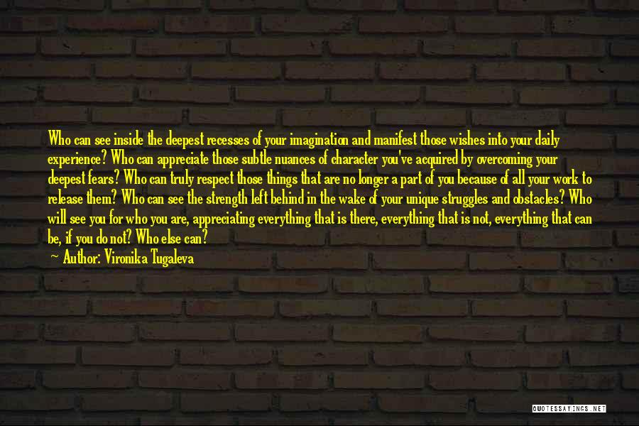 Overcoming Obstacles Quotes By Vironika Tugaleva