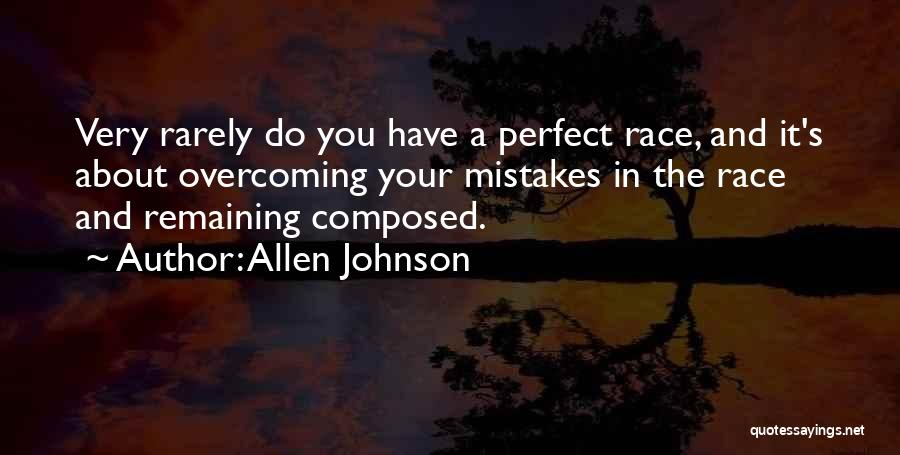 Overcoming One's Past Quotes By Allen Johnson