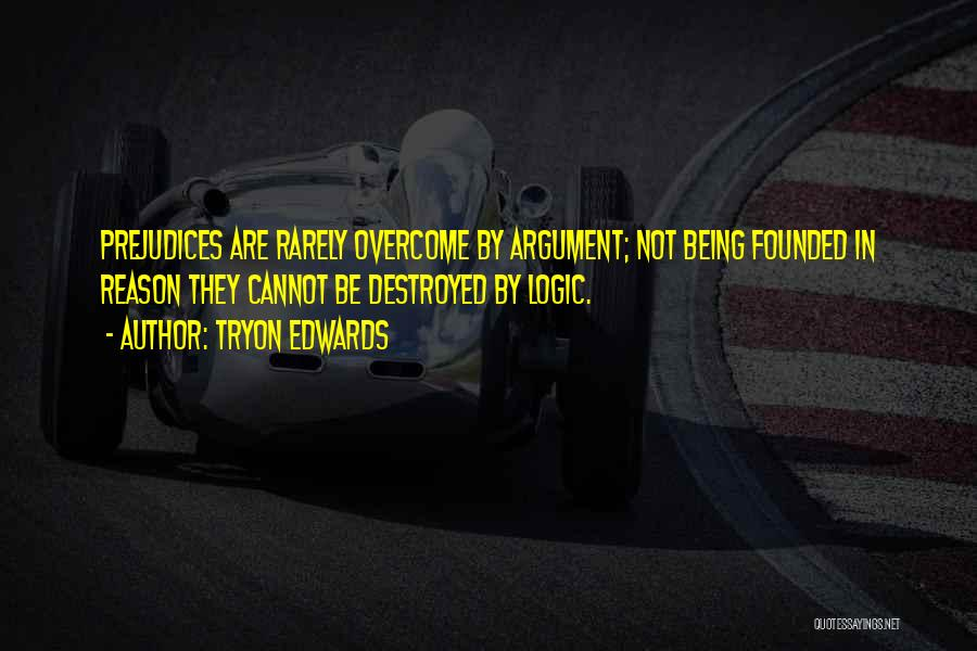 Overcoming One's Past Quotes By Tryon Edwards