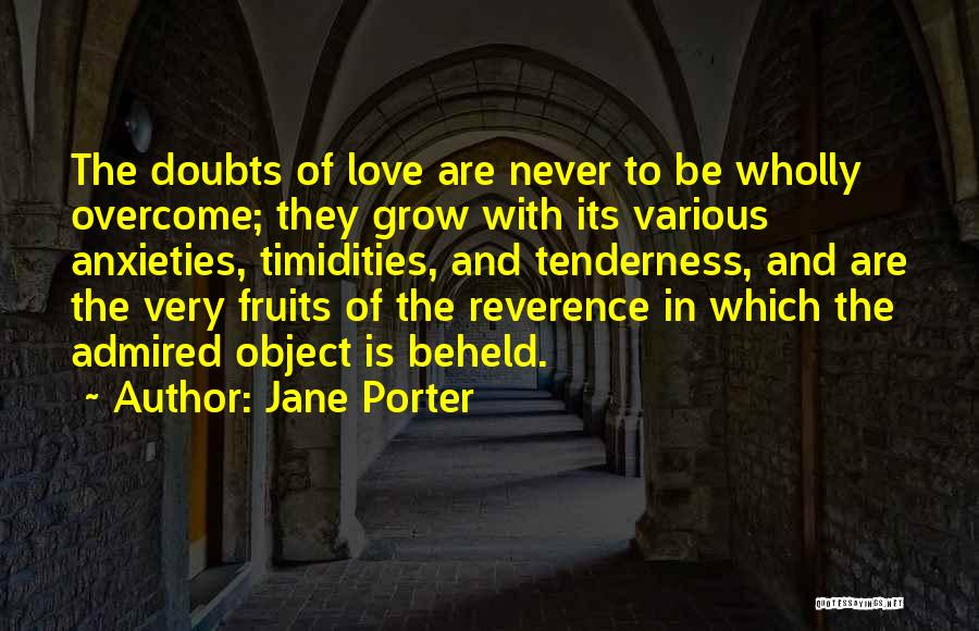 Overcoming Self Doubt Quotes By Jane Porter
