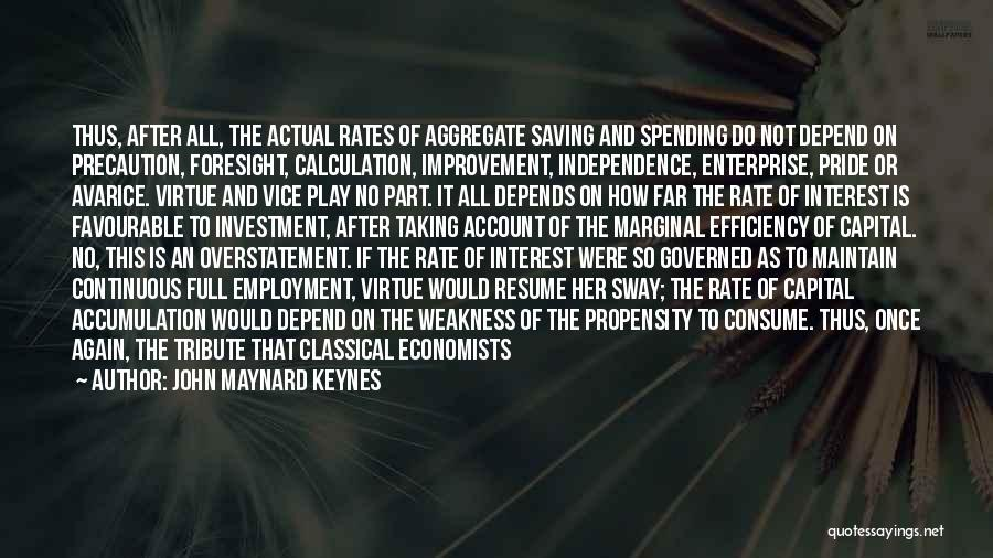 Overstatement Quotes By John Maynard Keynes