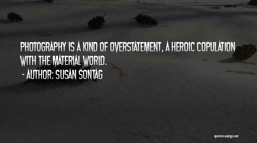 Overstatement Quotes By Susan Sontag