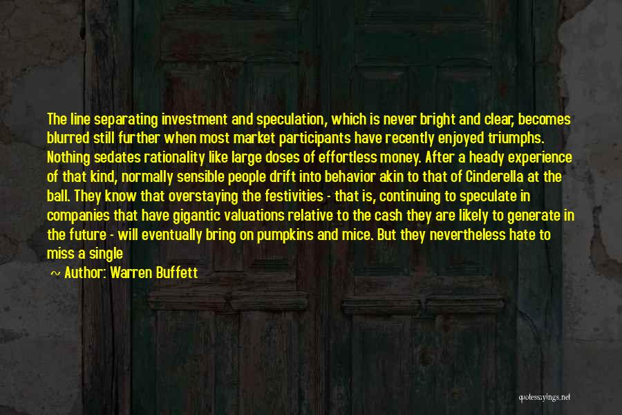Overstaying Quotes By Warren Buffett