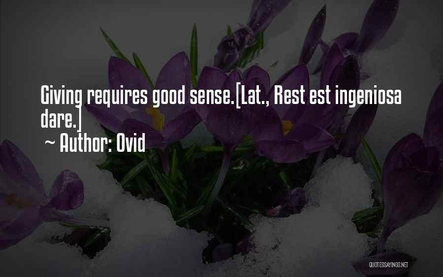 Ovid Quotes 1317804