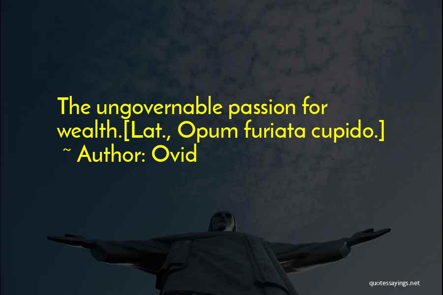 Ovid Quotes 1875679