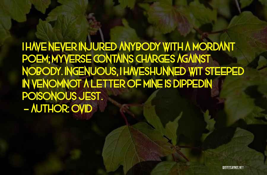 Ovid Quotes 561681