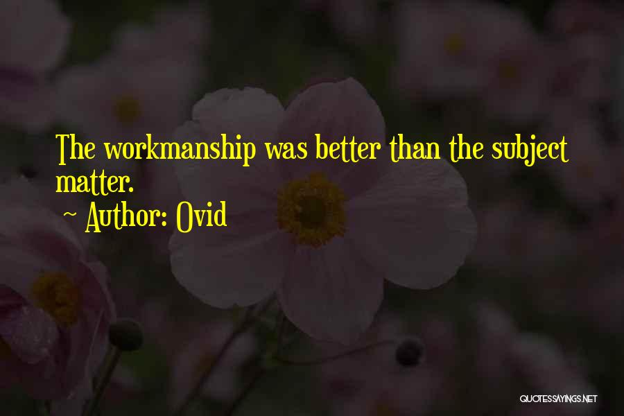 Ovid Quotes 568267