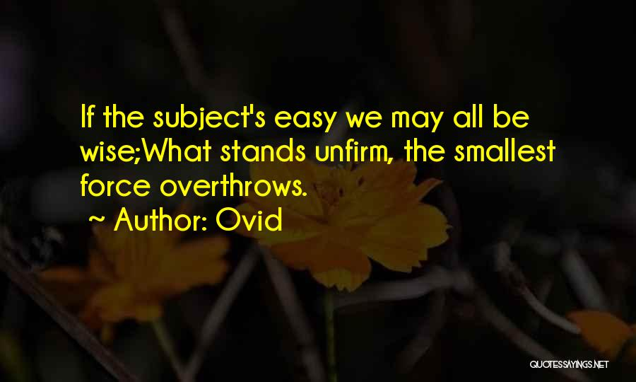 Ovid Quotes 659391