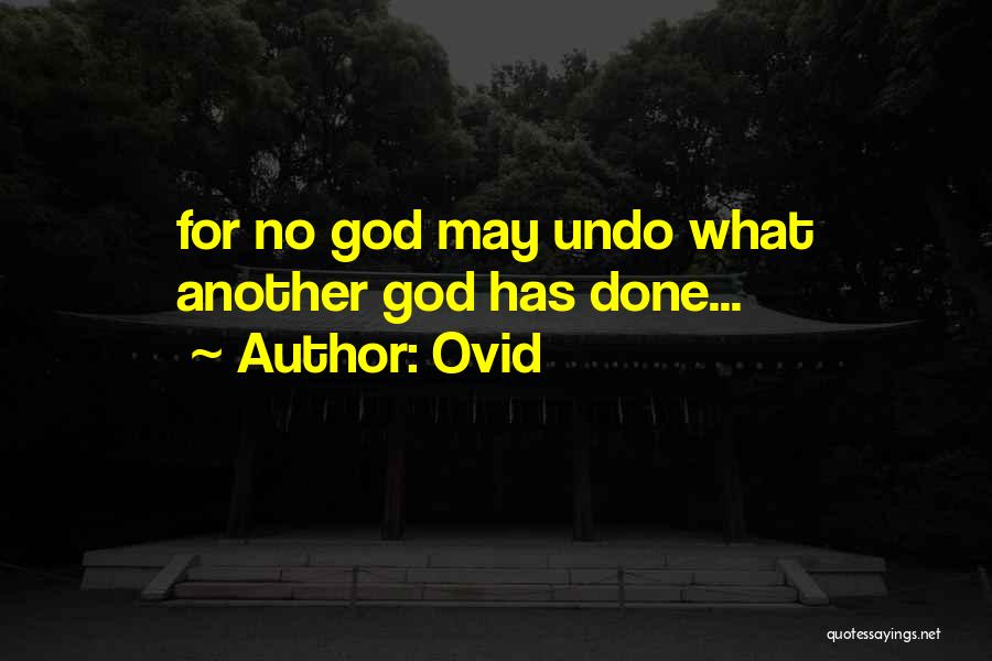Ovid Quotes 758101