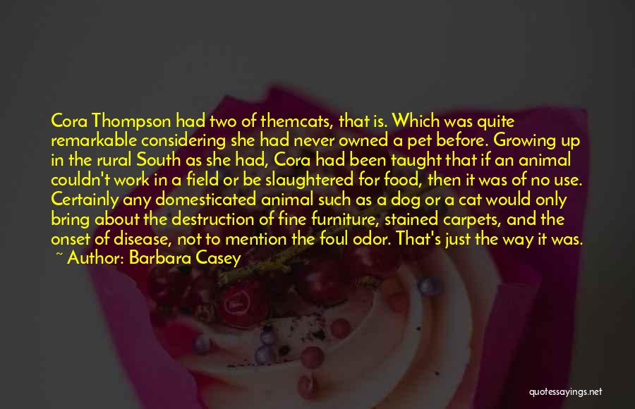 Owned Quotes By Barbara Casey