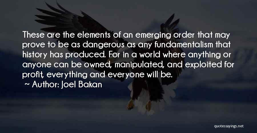 Owned Quotes By Joel Bakan