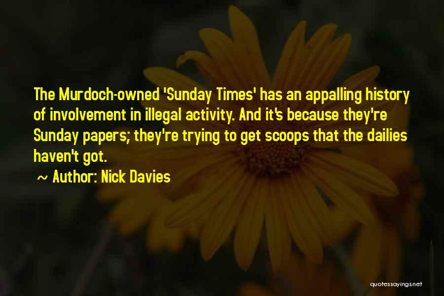 Owned Quotes By Nick Davies