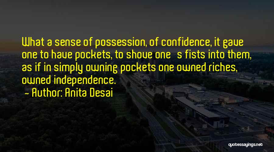 Owning It Quotes By Anita Desai