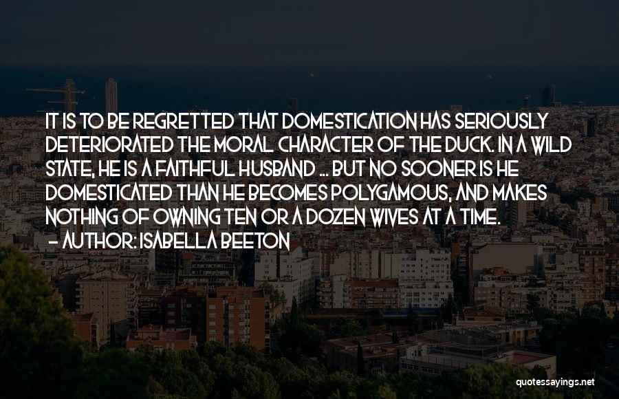 Owning It Quotes By Isabella Beeton
