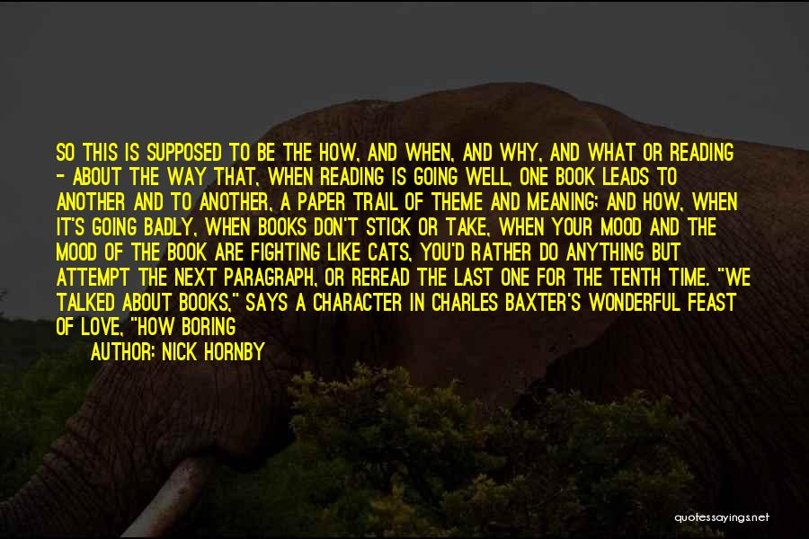 Owning It Quotes By Nick Hornby