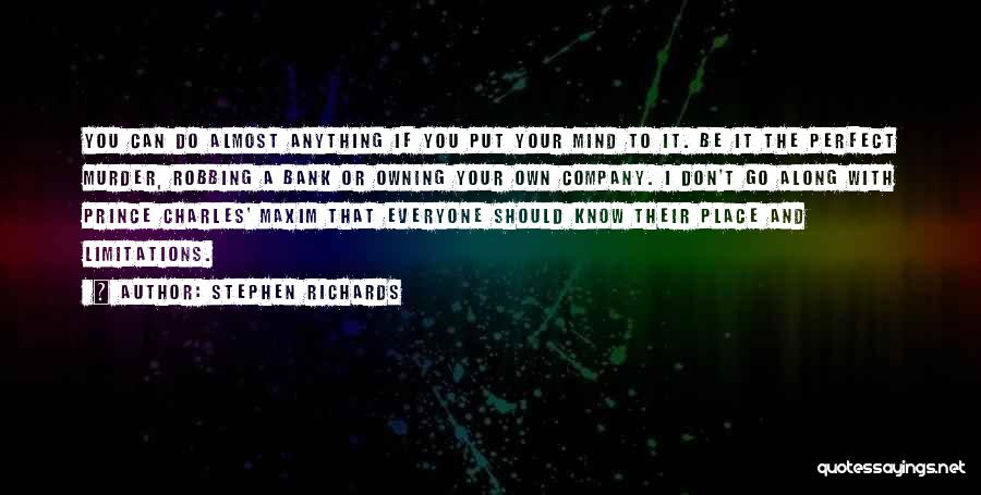 Owning It Quotes By Stephen Richards