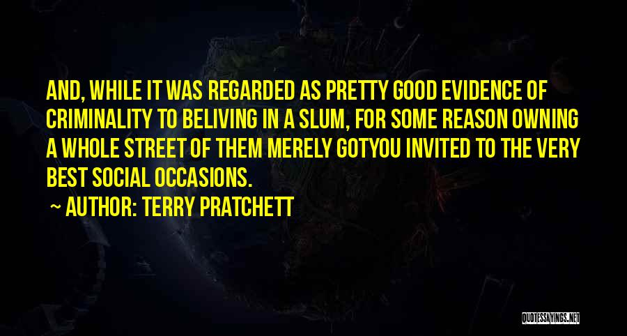 Owning It Quotes By Terry Pratchett