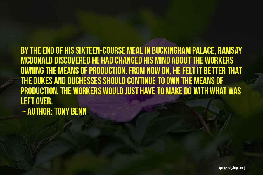 Owning It Quotes By Tony Benn