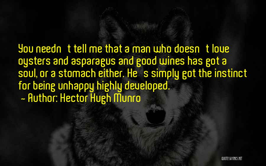 Oysters Quotes By Hector Hugh Munro