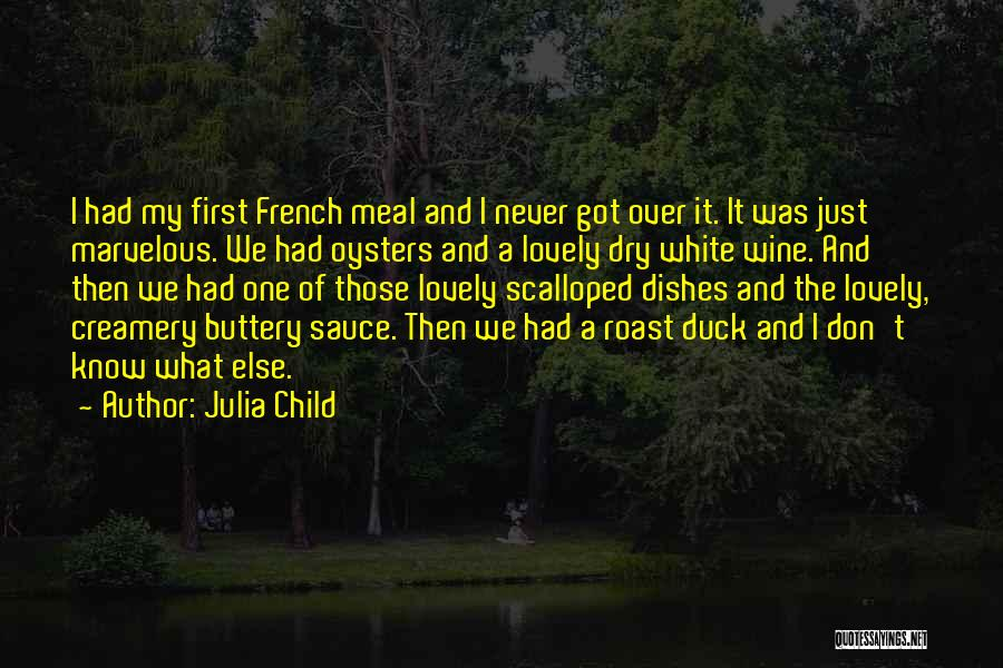 Oysters Quotes By Julia Child