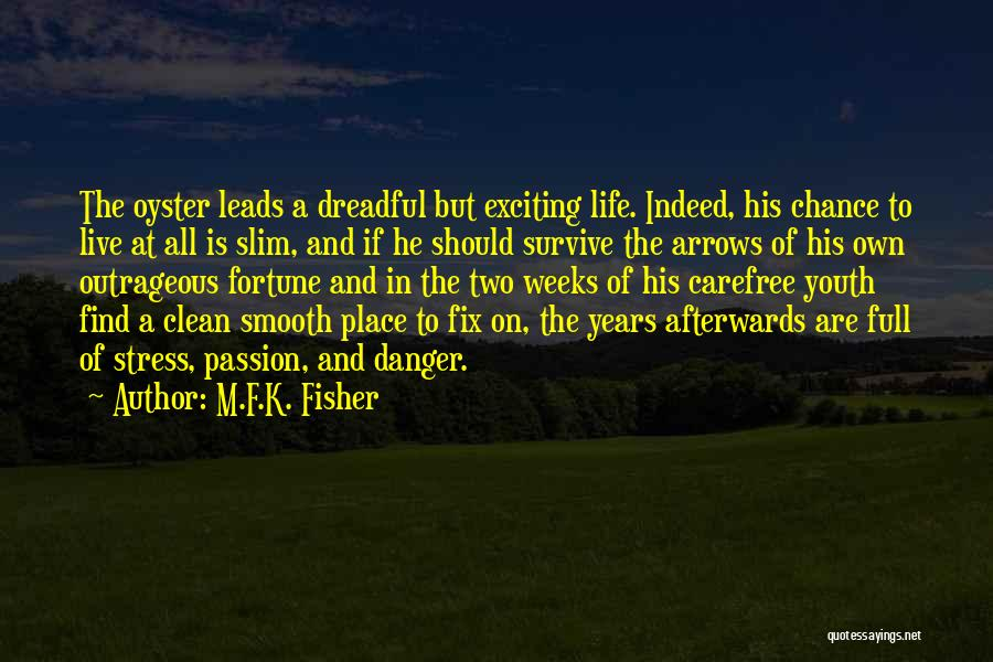 Oysters Quotes By M.F.K. Fisher