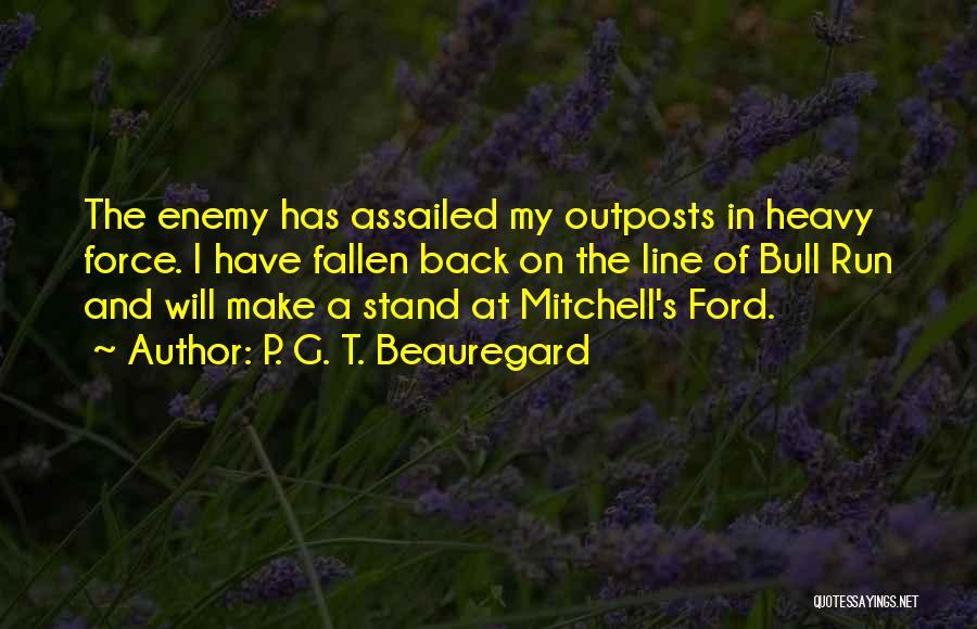 P. G. T. Beauregard Quotes 1660699
