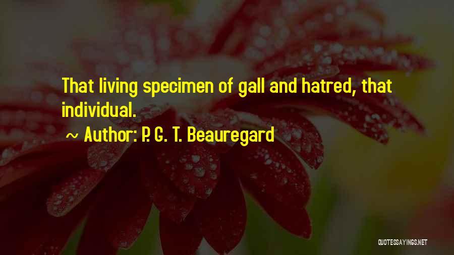 P. G. T. Beauregard Quotes 432767