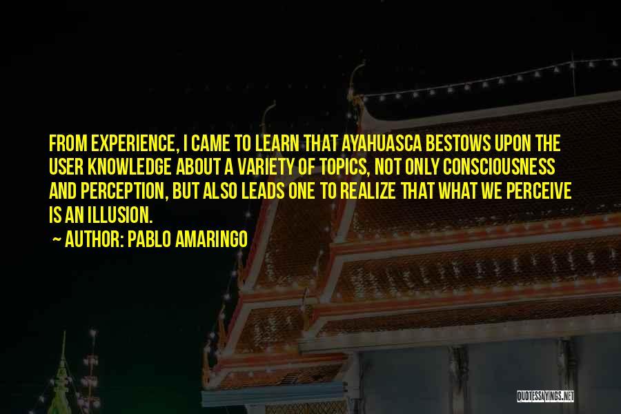 Pablo Amaringo Quotes 491812