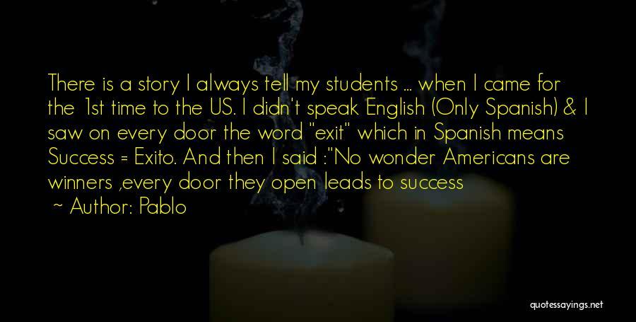 Pablo Quotes 196420