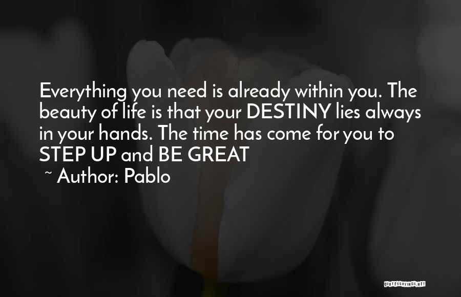 Pablo Quotes 2271717