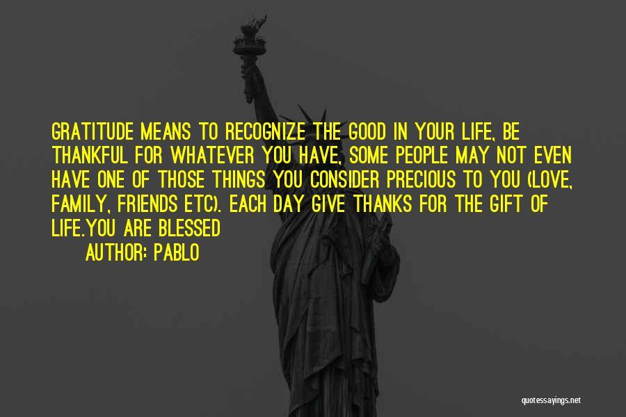 Pablo Quotes 833084