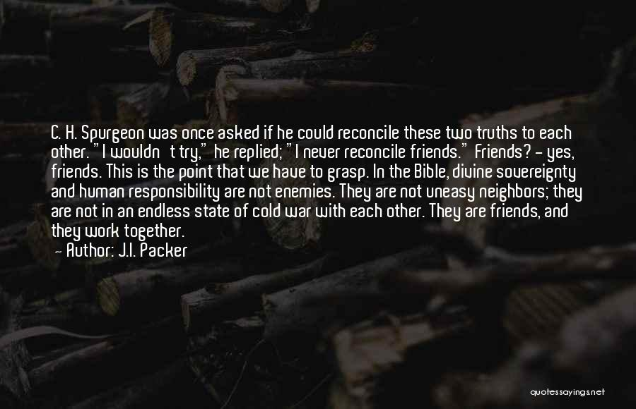 Packer Quotes By J.I. Packer