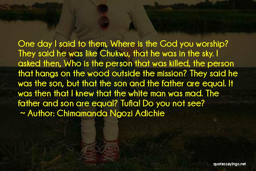 Paganism And Christianity Quotes By Chimamanda Ngozi Adichie