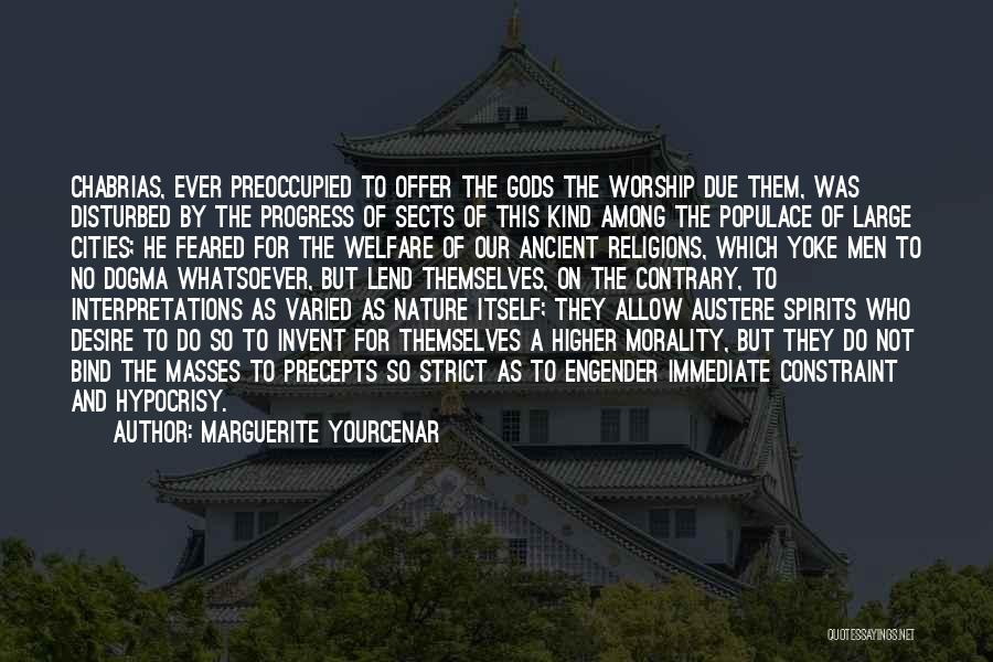 Paganism And Christianity Quotes By Marguerite Yourcenar