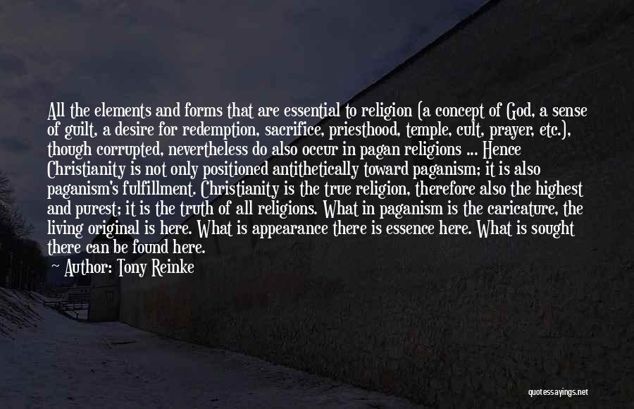 Paganism And Christianity Quotes By Tony Reinke